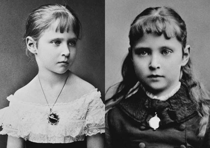 Александра Фёдоровна в детстве