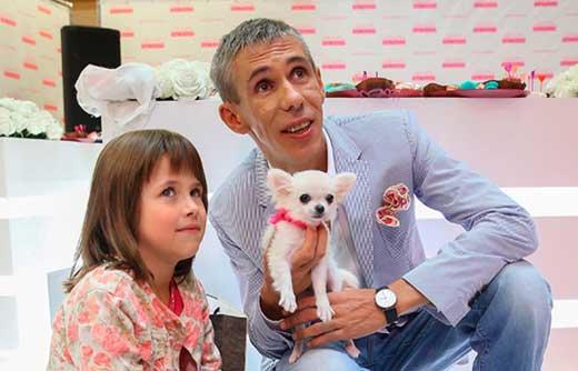 Алексей Панин и дочь Анна