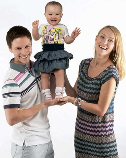 Анастасия Панина и Владимир Жеребцов и дочь 2
