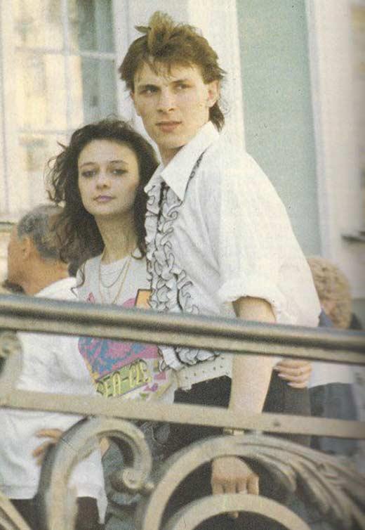 Андрей Разин и Наталья Лебедева