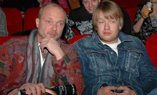 Андрей Смоляков и сын Дмитрий