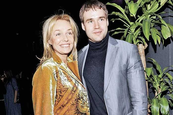 Наталья Андрейченко и сын Дмитрий