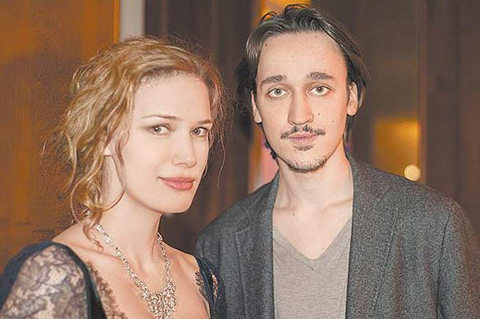 Анна Арланова с мужем Никитой