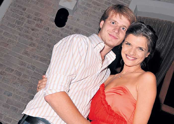 Анна Азарова и Павел Башнин
