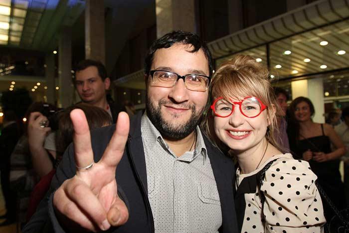 Анна Цуканова-Котт с мужем Александром