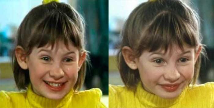 Анна Цуканова-Котт в детстве