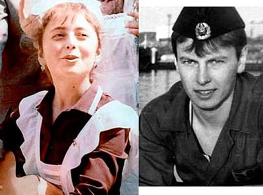 Анжелика Варум и первый муж Максим Никитин
