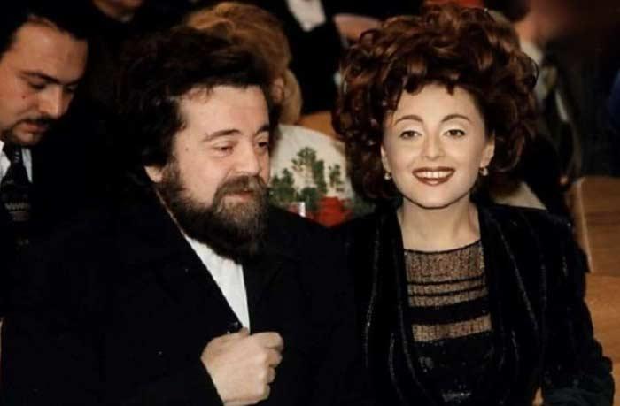 Анжелика Варум и отец Юрий Варум