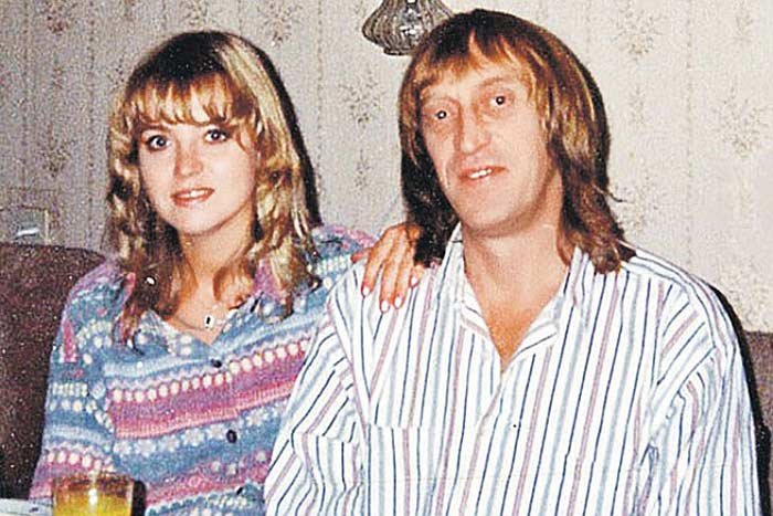 Виктор Авилов с третьей женой Ларисой