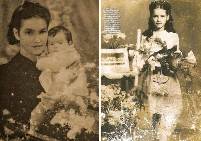 Барбара Брыльска в детстве