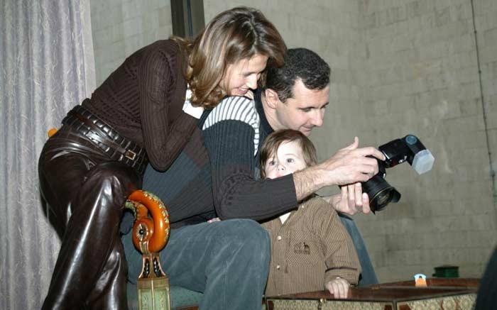 Башар Асад с женой 5