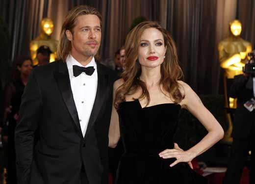 Брэд Питт и Анджелина Джоли 1