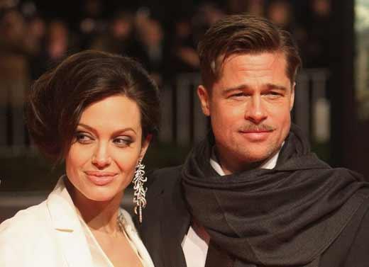 Брэд Питт и Анджелина Джоли 2