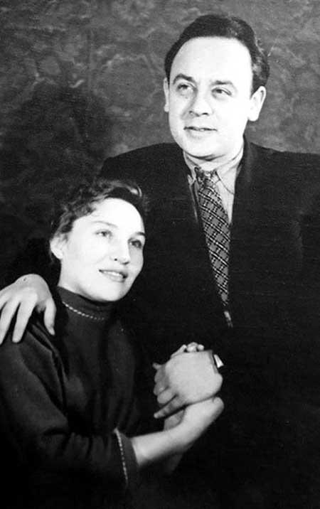 Леонид Броневой и Валентина Блинова