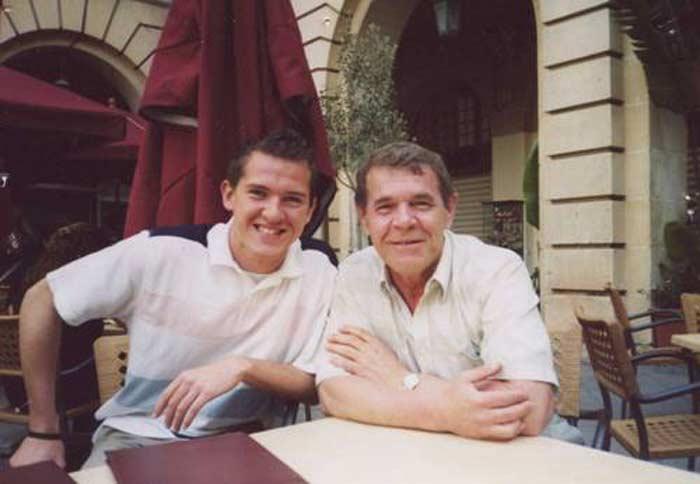 Алексей Булдаков и сын Иван