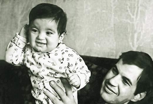 Георгий Бурков с дочерю