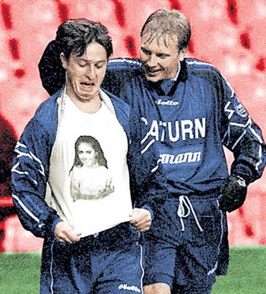 Бузникин футболка с Кабаевой