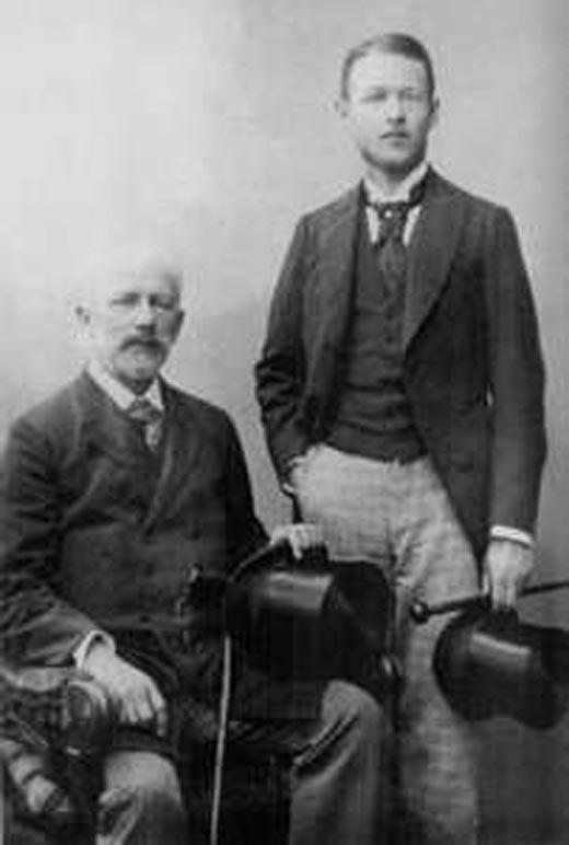 Чайковский и Боб Давыдов