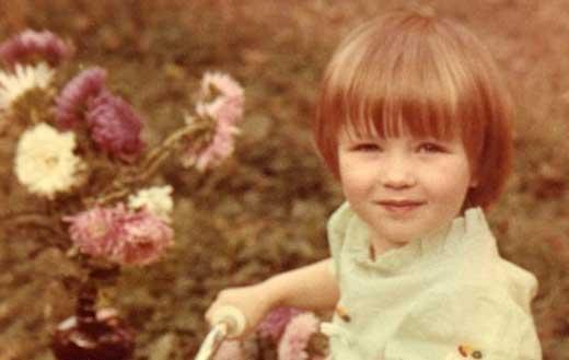 Дарья Домрачева в детстве