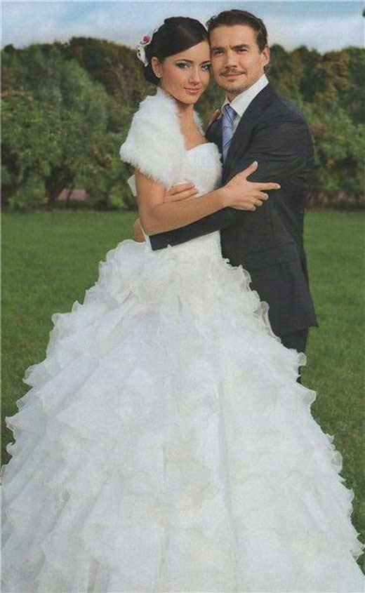 Денис Никифоров с женой Ириной 2