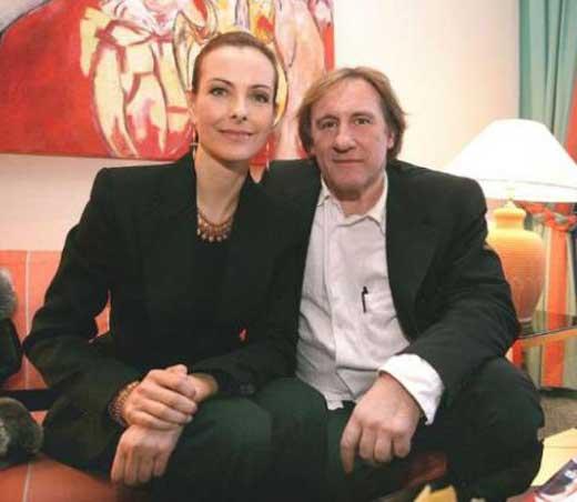 Жерар Депардьё и Кароль Буке 2