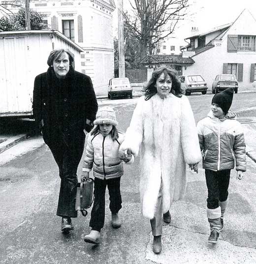 Жерар Депардьё и Элизабет Гиньо 3