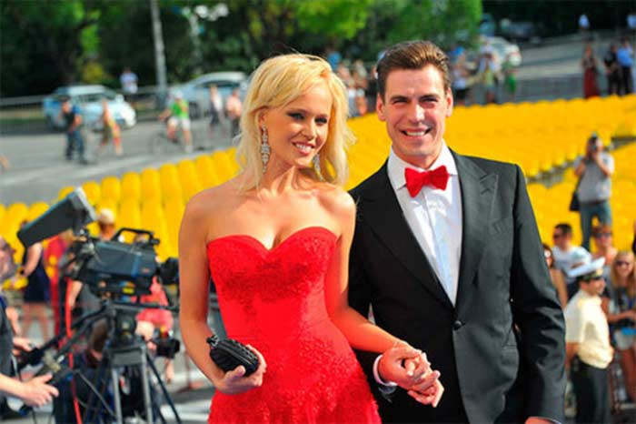 Дмитрий Дюжев с женой 2