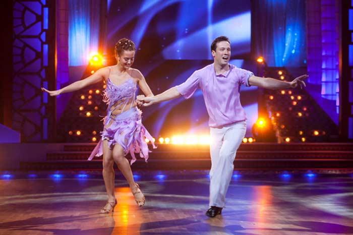 Дмитрий Мазуров и Анна Гавриленко в шоу Танцы со звездами