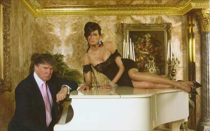 Мелания и Дональд Трамп 3