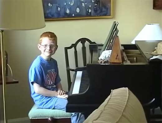 Эд Ширан в детстве