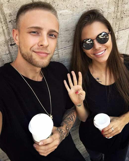 Егор Крид и Виктория Одинцова