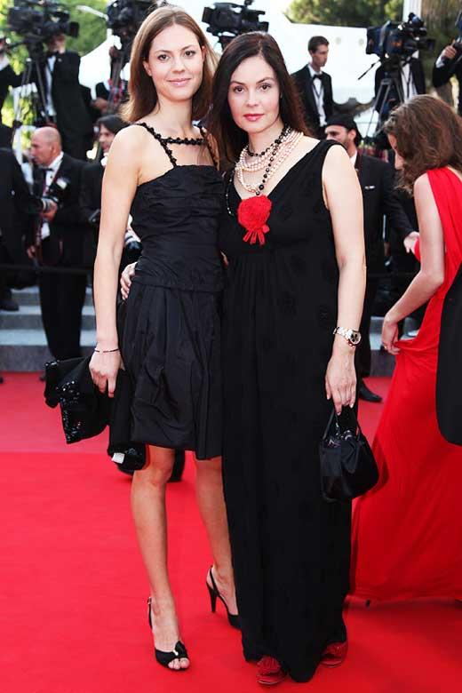 Екатерина Андреева и дочь