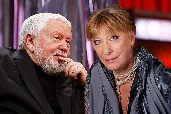 Екатерина Васильева и Сергей Соловьёв