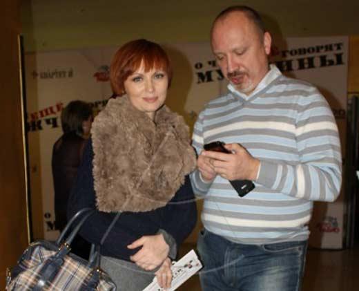 Елена Ксенофонтова с мужем Александром