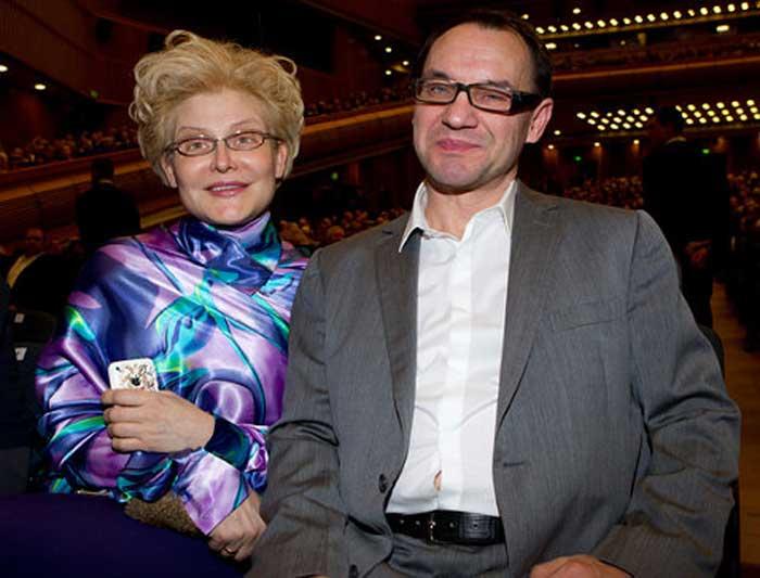 Елена Малышева с мужем 2