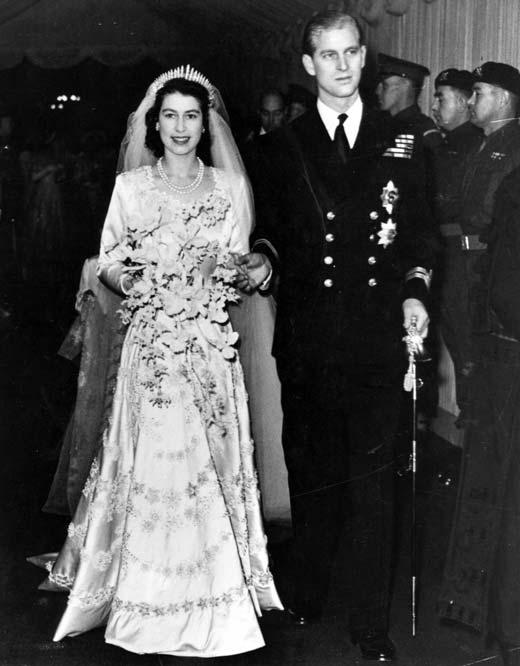 Елизавета II и Филипп Маунтбеттен 1