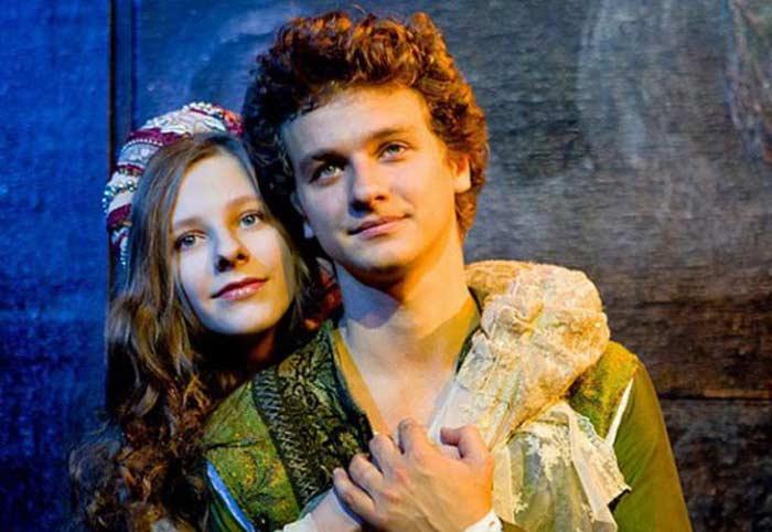 Елизавета Арзамасова и Филипп Бледный