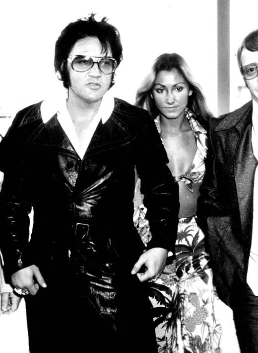 Элвис Пресли и Линда Томпсон 2