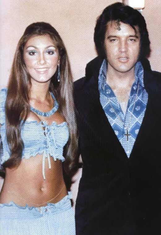 Элвис Пресли и Линда Томпсон 4
