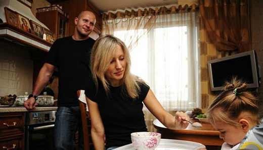 Федор Емельяненко и Марина