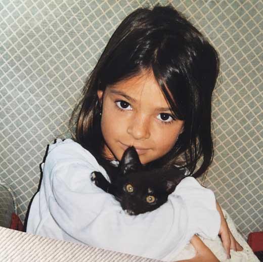 Эмили Ратаковски в детстве