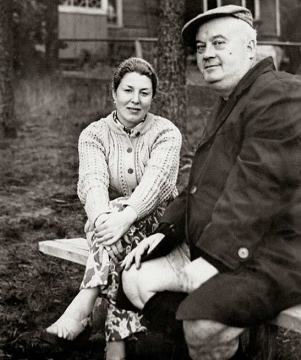 Евгений Моргунов с женой