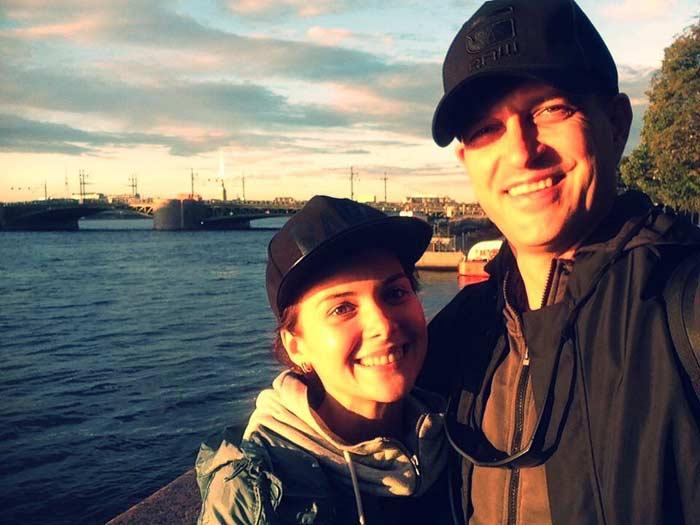 Евгений Воловенко с женой Дианой