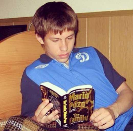 Фёдор Смолов в детстве