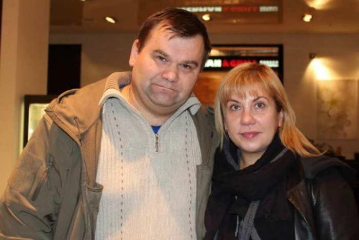 Марина Федункив со вторым мужем