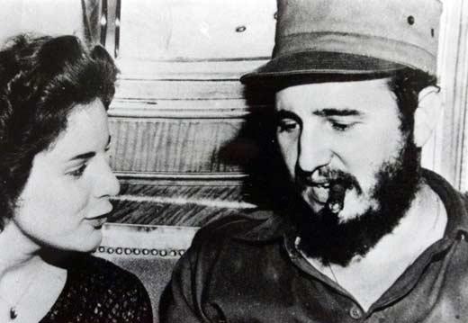 Фидель Кастро и Марита Лоренц
