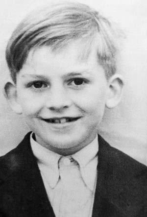 Джордж Харрисон в детстве