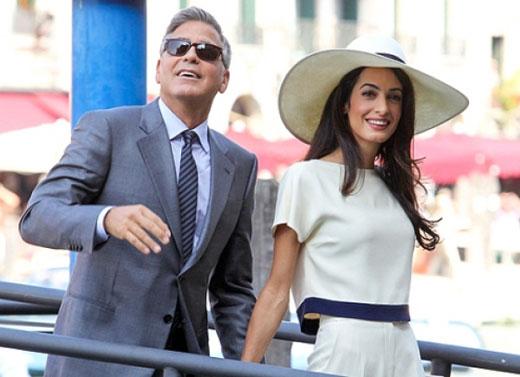Амаль и Джордж Клуни 2