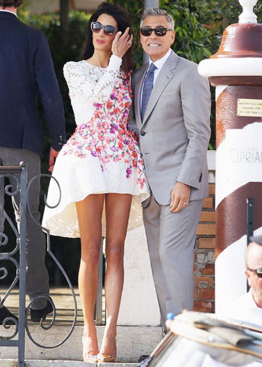 Амаль и Джордж Клуни 3