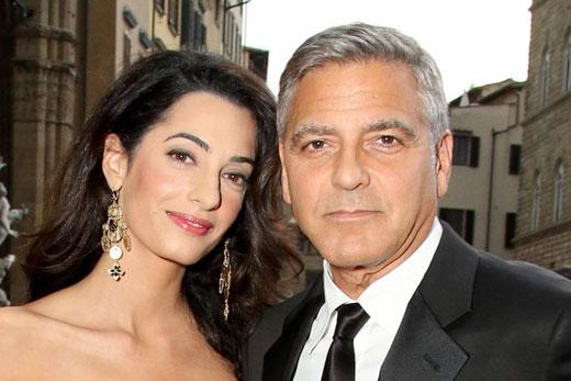 Джордж и Амаль Клуни 2